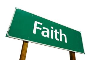 sinal de fé